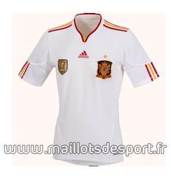 Maillots de l'Espagne 2012 et celui du portugual