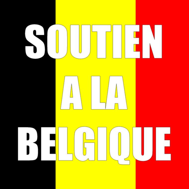 Soutien a nos amis Belges