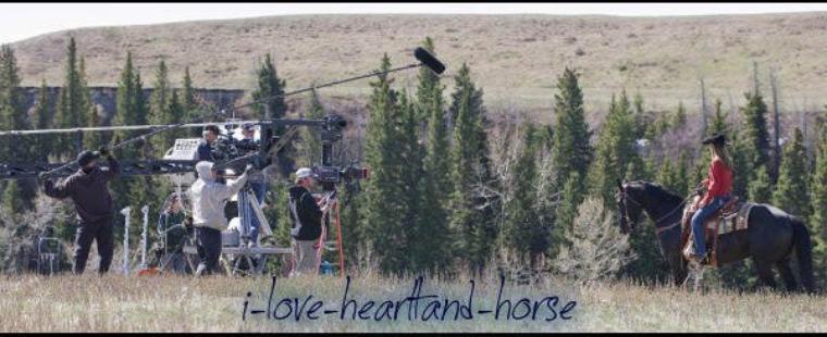 Sur les traces du tournage , Amy&Spartan ! <3