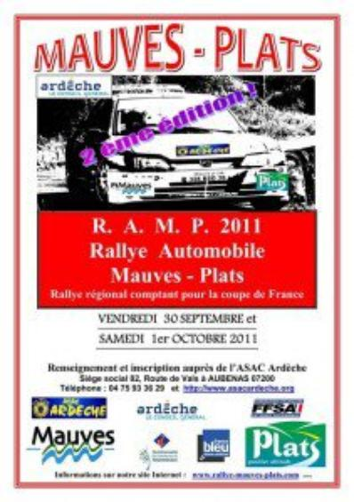 Rallye Mauves & Plats 2011