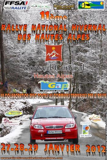 Rallye hivernal des Hautes-Alpes 2012