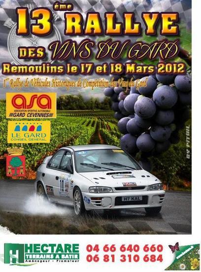 Rallye des vins du Gard 2012