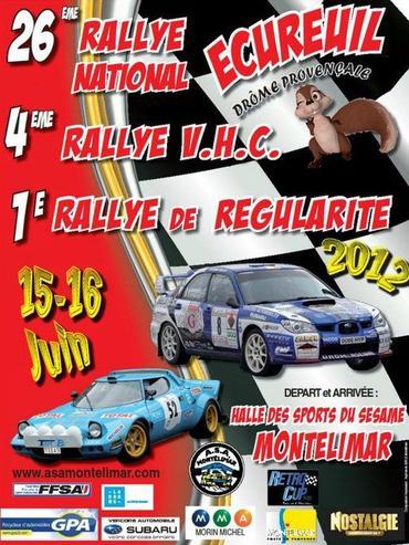Rallye de l'Écureuil 2012