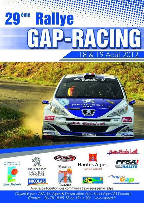 Rallye du Gap-Racing 2012