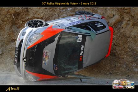 Rallye de Vaison 2013 - Les sorties