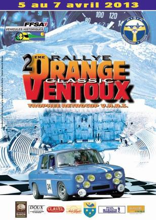 Rallye Orange-Ventoux Classic 2013