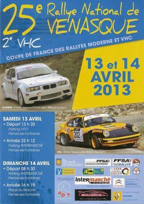 Rallye de Venasque 2013