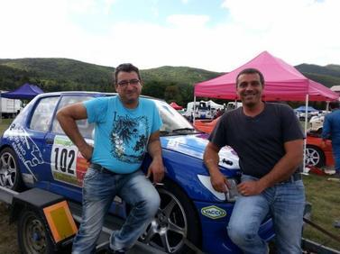 Di Stefano/Coulomb - Peugeot 205 rallye