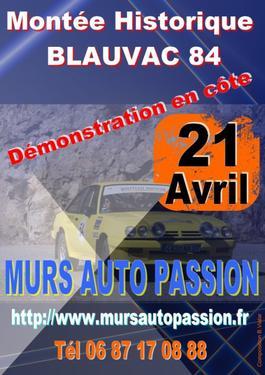 Montée historique de Blauvac 2013