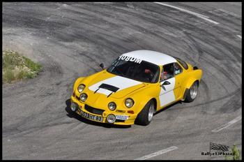 Montée historique du Colombier 2013 - Caméra embarquée Alpine A110