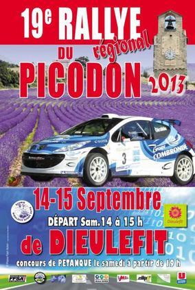 Rallye du Picodon 2013