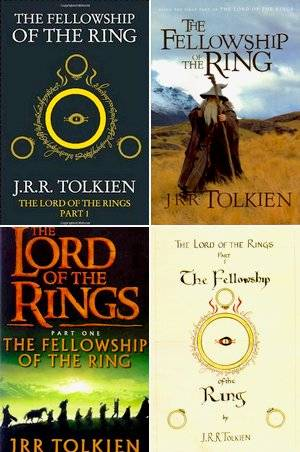 Livre The Fellowship of the Ring