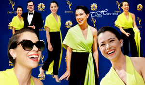 People Event - The 70th Annual Primetime Emmy Awards Dakota Fanning - Scarlett Johanson - Tatiana Maslany - Thandie Newton - Sandra Oh - Evan Rachel Wood