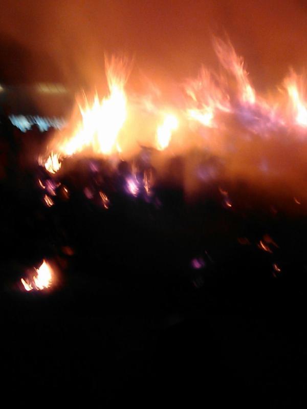 Le feu de la saint Jean a survillers