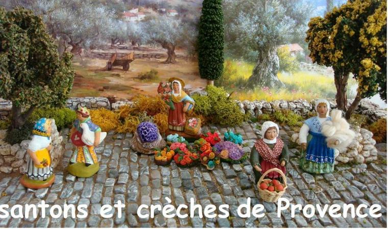 l'origine des santons de Provence