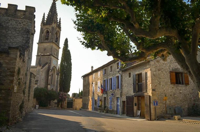 quelques belles photos de Aiguèze