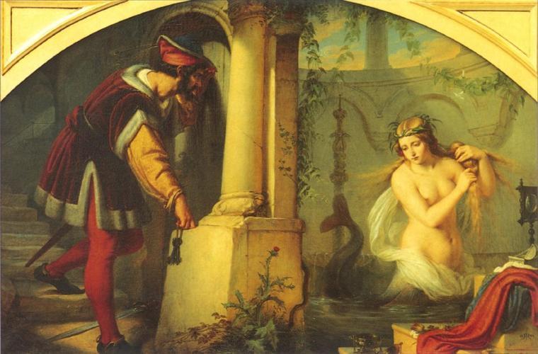 la légende de Persine et Mélusine
