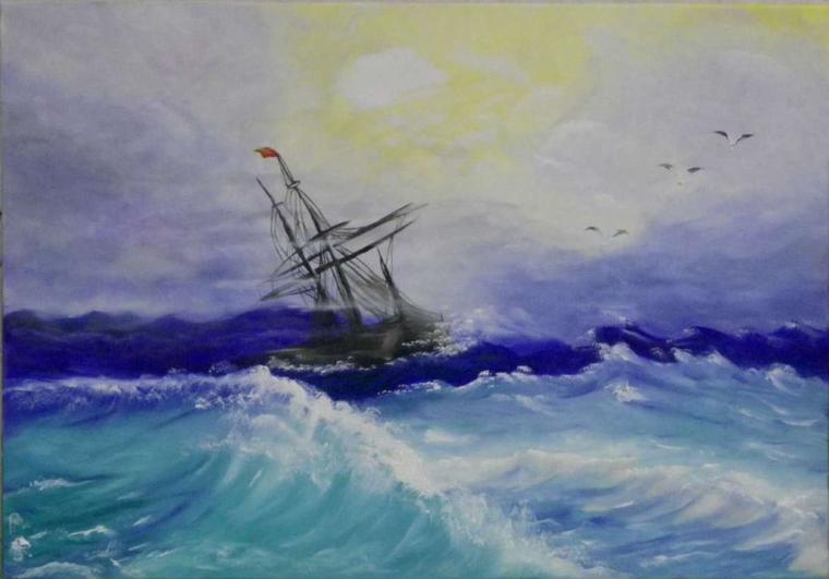 c'est un poème que j'aime beaucoup,il est long mais......le bateau ivre de Rimbaud vous emmene