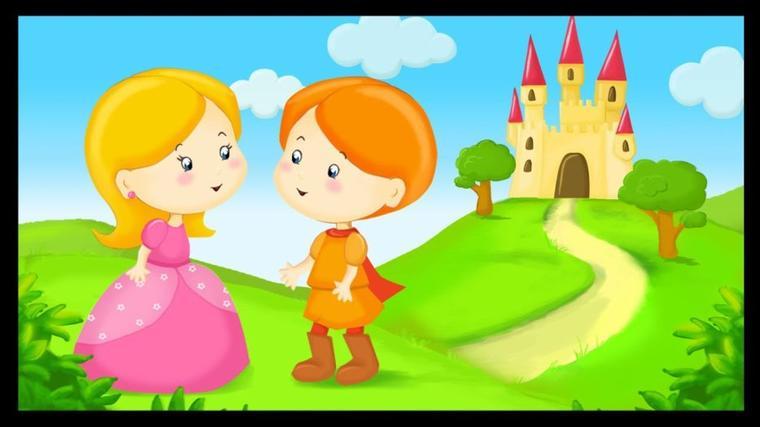POUR LES ENFANTS/  DEMOISELLE MELINE  CONTE DE GRIMM