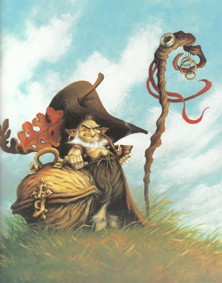 conte breton  :  les korrigans
