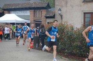 Dimanche 21 Avril 2013 :  Les Petits Pas du C½ur de La Wantzenau (10Km courus en 40 Minutes)