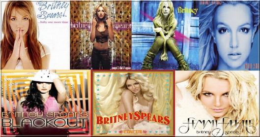 Classement des meilleurs albums de Britney !
