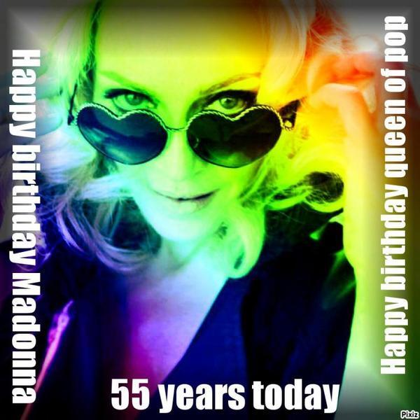 Happy birthday queen of pop !