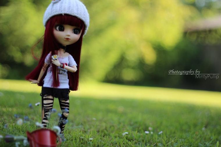 Il était une fois, une petite poupée perdue dans mon c½ur...
