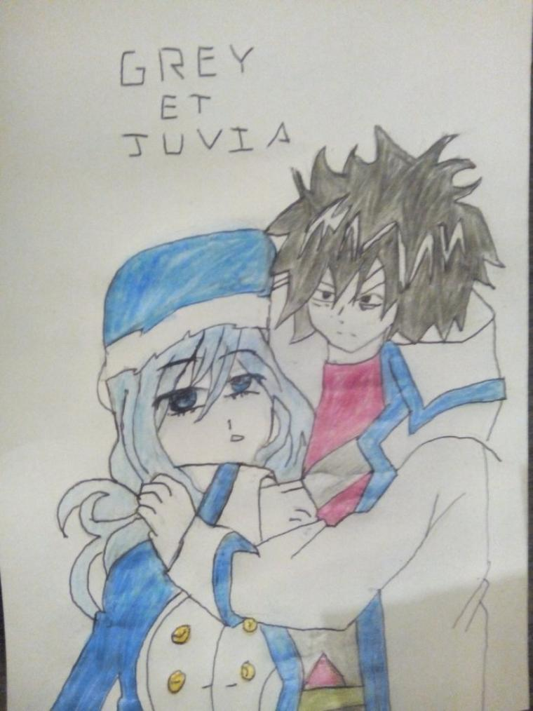 Grey et Juvia