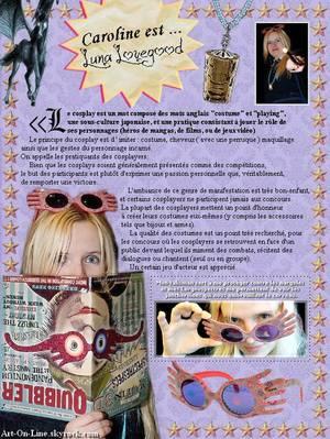 ♥ Qu'est-ce que le cosplay? ♥
