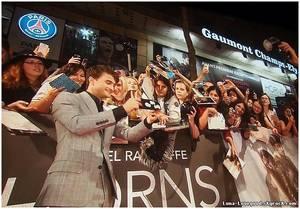 """♥ Ma rencontre avec DANIEL RADCLIFFE (Harry Potter) à l'AVANT PREMIERE """"HORNS"""" à PARIS le Mardi 16 septembre 2014 ♥"""