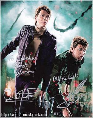 ♥ Fred et Georges WEASLEY (James et Oliver Phelps) ♥