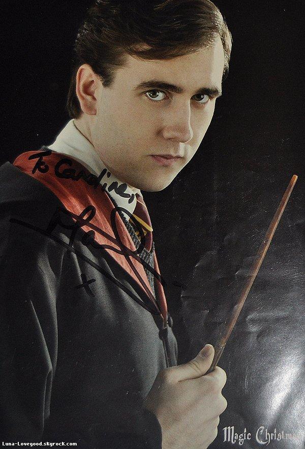 Matthew Lewis (alias Neville Londubat)