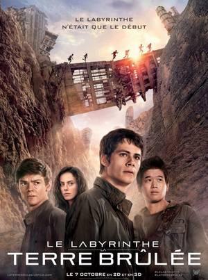 L'avant-Première Le Labyrinthe 2 : La Terre Brûlée au GRAND REX à PARIS le Mardi 30 septembre 2015 en présence des acteurs Kaya Scolario (Teresa) et Thomas Brodie-Sangster (Newt)