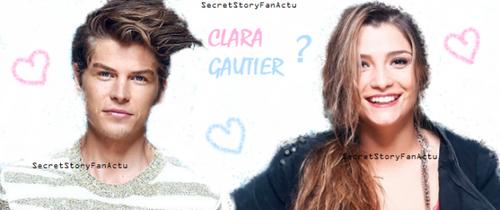 Clara et Gautier..