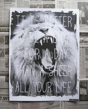 Tout choix, entraîne des sacrifices ...