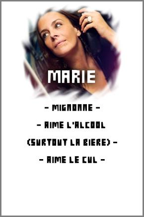 LA DESCRIPTION DES MEMBRES DE L'EQUIPE
