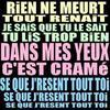 :. lLE REGRET DE T'AAiiYMEi ET ENTRAiiYN DMEE HANTEiiY .:  (xlL'