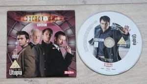 DVD Doctor Who Utopia