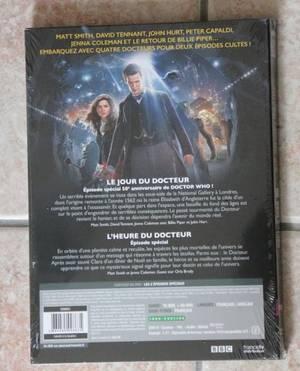 DVD Doctor Who 50 ème anniversaire