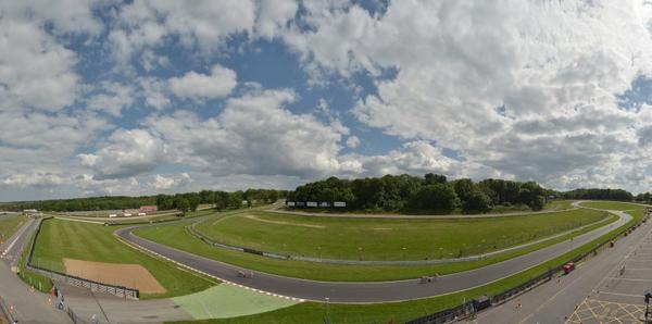 Reconnaissance circuit des Jeux Paralympiques de Londres 2012 sur le circuit de Brands Hatch