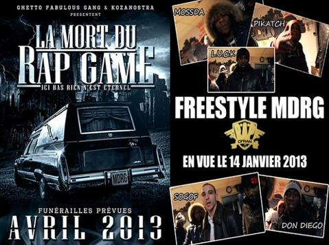 Freestyle - V.A - La Mort Du Rap Game | MDRG |