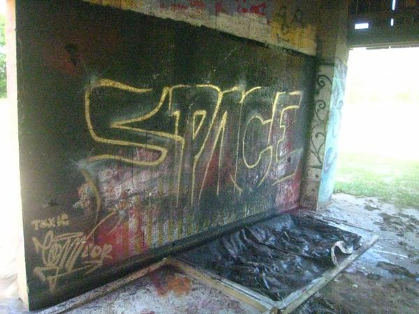 space graffiti