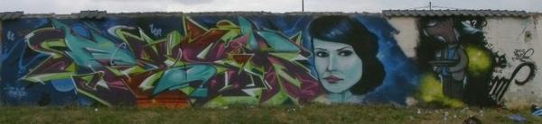 graffiti avec pisko