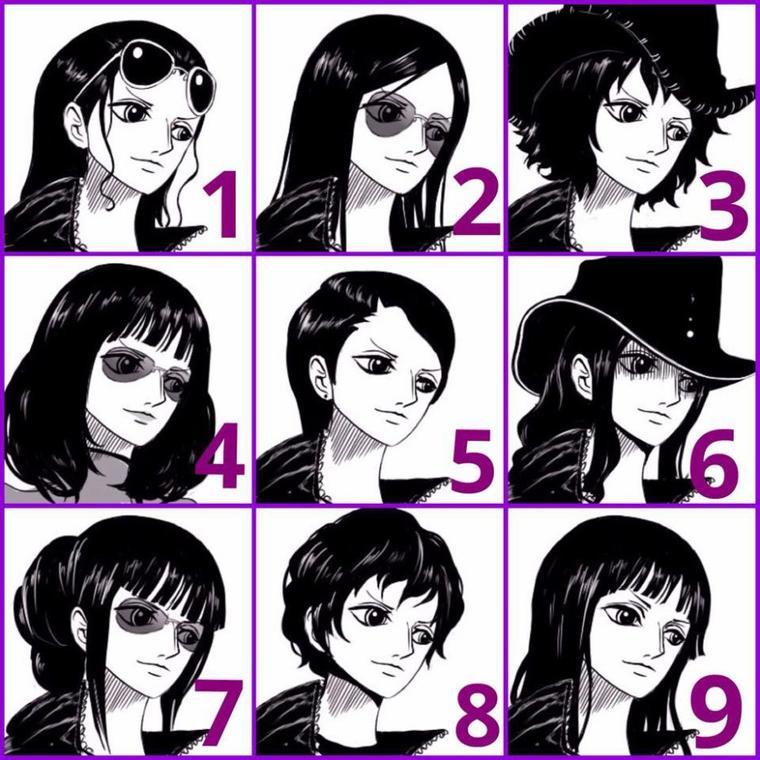 Quelle coupe va le mieux à Robin ?
