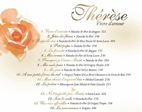 Thérèse - Vivre d'amour [édition collector]