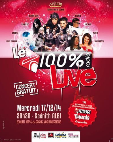 Le 100% Live à Albi