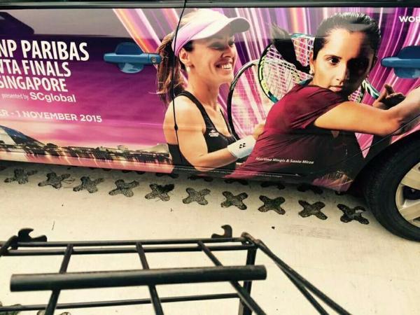 Hingis/mirza en finale a Guangzhou ;)