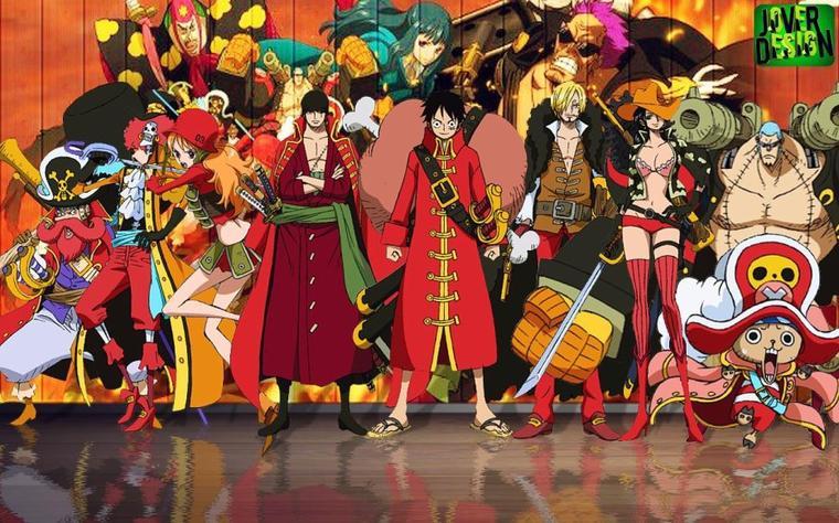Et voici... La partie sur One Piece!!