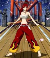 fairy tail (personnage): erza